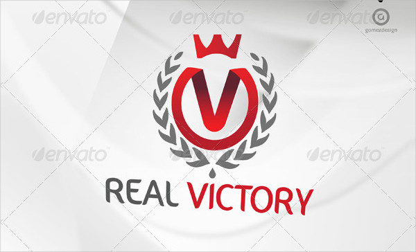 Real Victory Logo Template