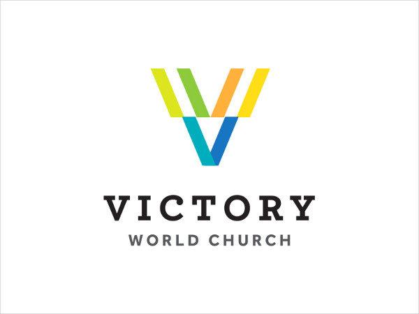 Victory World Church Logo Design