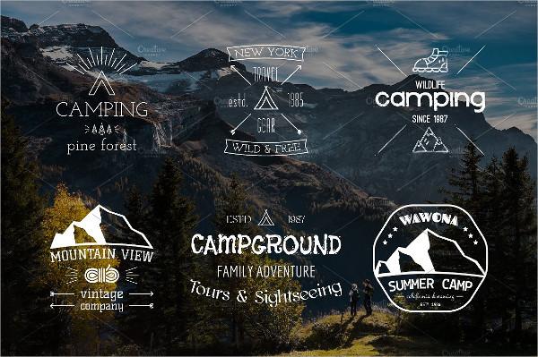 Vintage Forest Badges & Logos