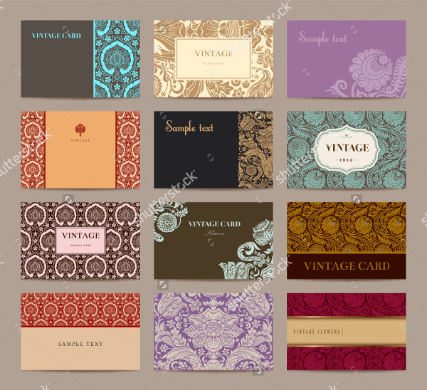 Classical Business Cards Collection