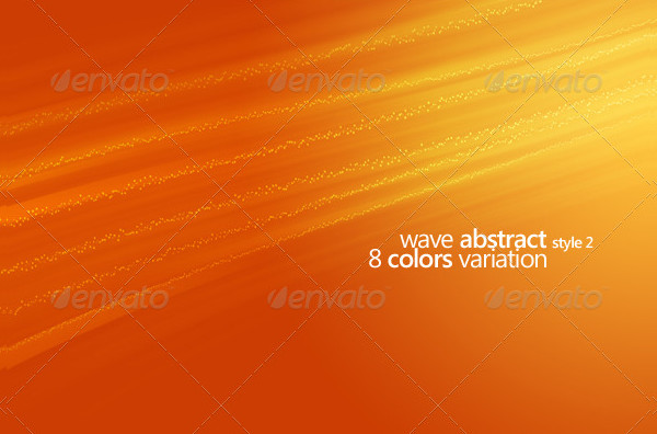 Wave Abstract Star Background