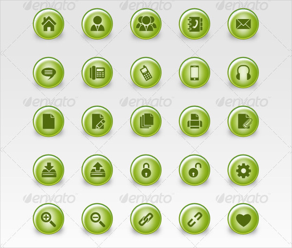 Eco Web Icons