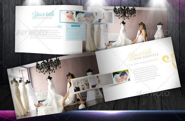 Wedding Catalogue Marketing Brochure