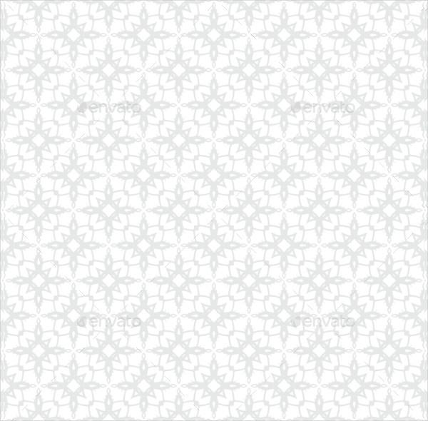 White & Silver Snowflake Texture
