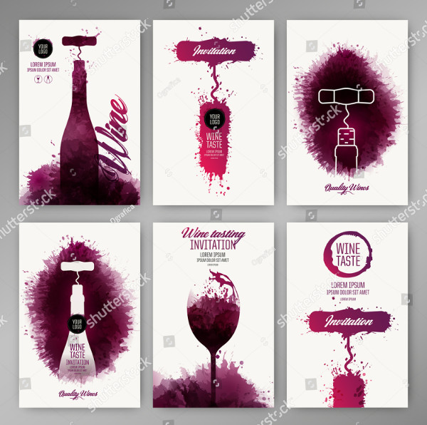 Wine Promotion Brochures Design