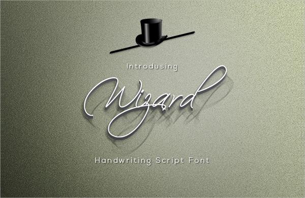 Wizard Script Font