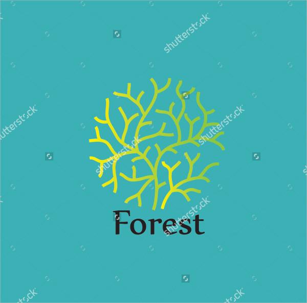 Forest Design Logo Template