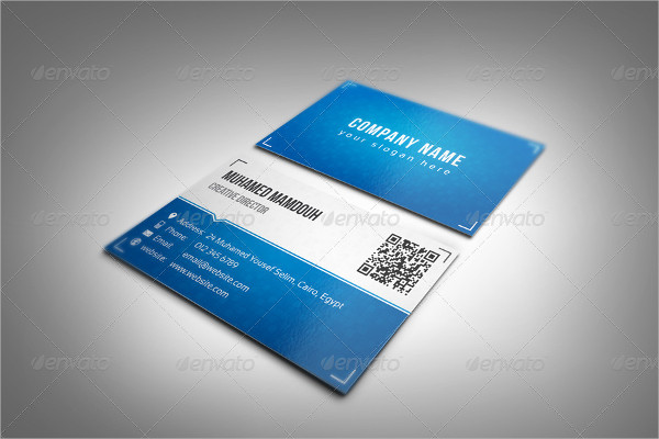 New Classic Business Card Template