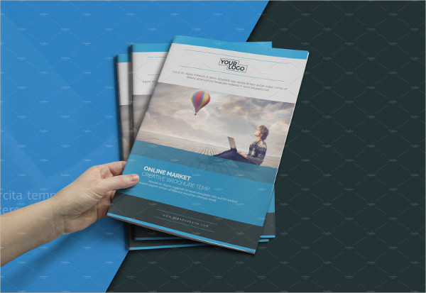 Abstract Professional Business Brochure Template