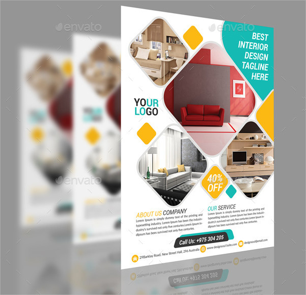Best Interior Design Flyer Template