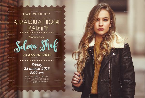 Amazing Graduation Party Invitation