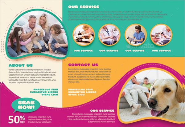 Clean Pet Care Brochure Template