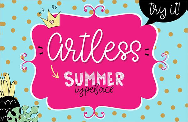 Branding Summer Handwriting Font