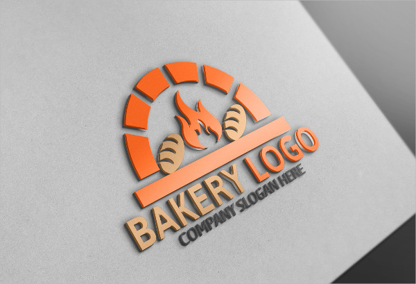 Attractive Bakery House Logo Template