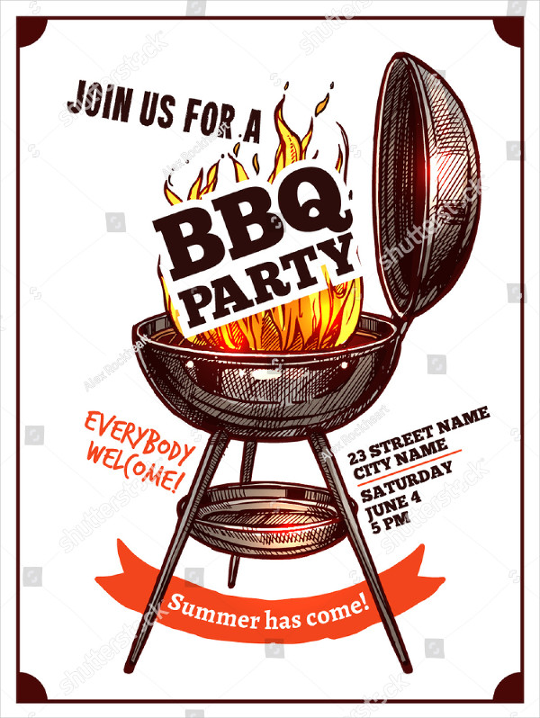 25 best bbq poster templates free premium download