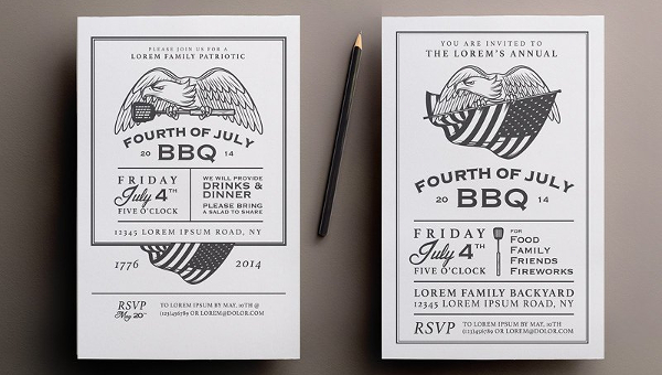 BBQ Invitation Templates