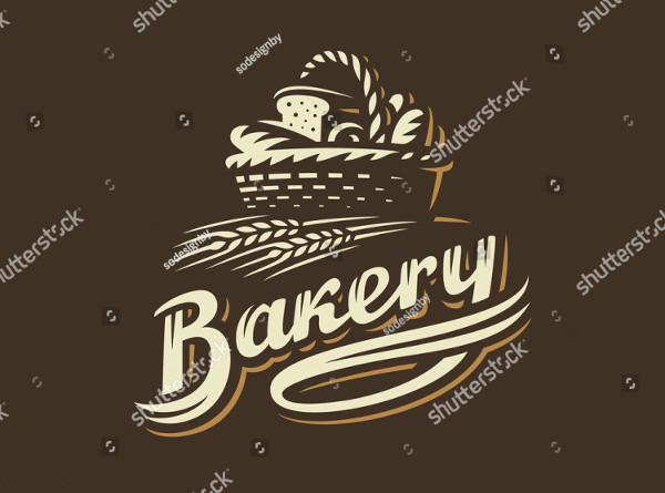 Bakery Basket Logo Vector Illustration
