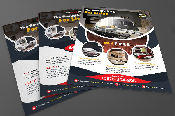 Beautiful Interior Flyer Template
