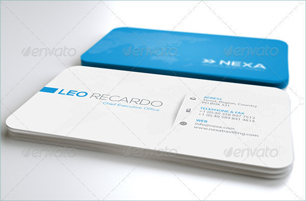 Branding Global Business Cards