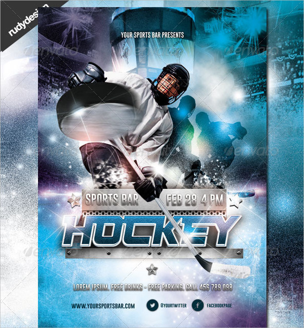 23 Hockey Flyer Templates Psd Ai Eps Vector Format Download