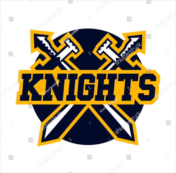 Brand Knight Cross Vector Logo