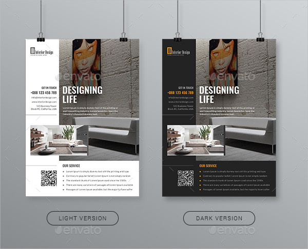 Perfect Interior Designer Flyer Template