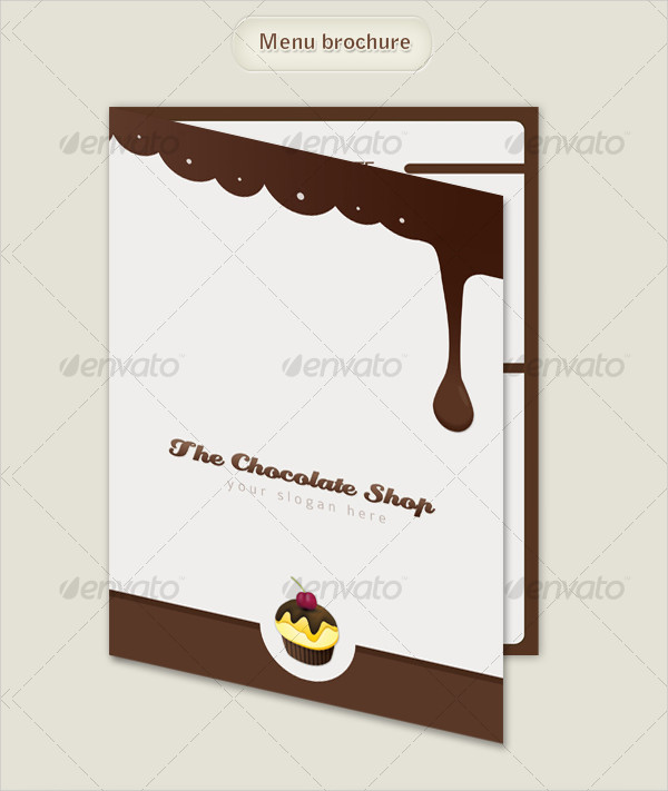 Chocolate Business Menu Brochure