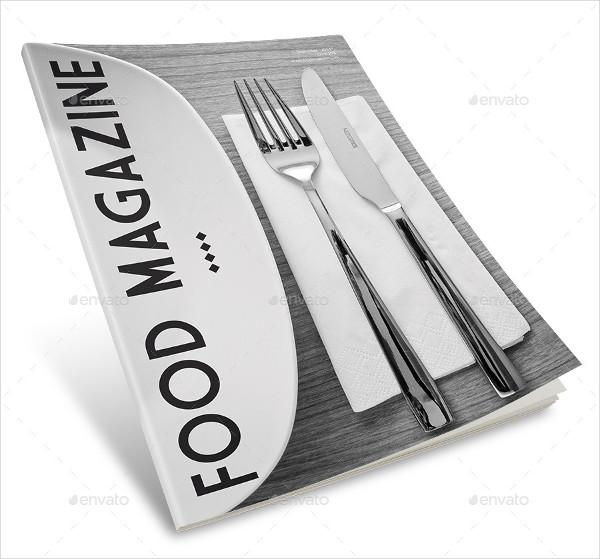 Classy Food Magazine Templates