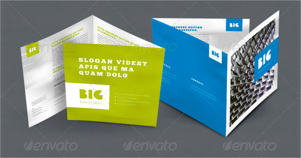 Professional Looking Corporate Brochure Template