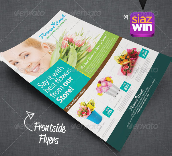 Amazing Flower Shop Flyers