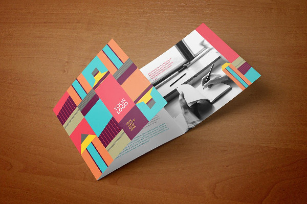 Colorful Young Geometric Trifold Brochure
