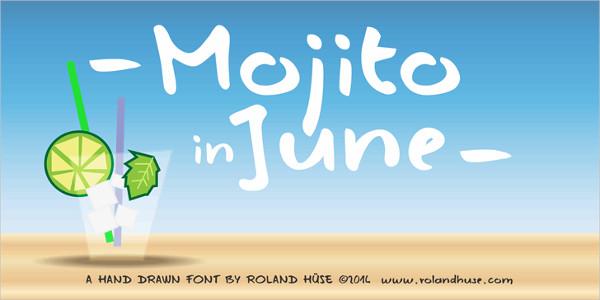 Free Mojito Summer Font