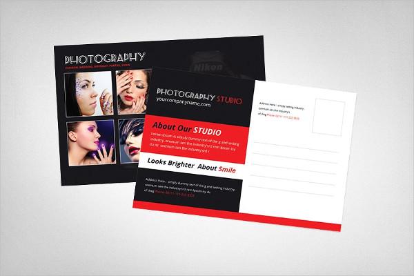 Creative Photography Postcard Templates