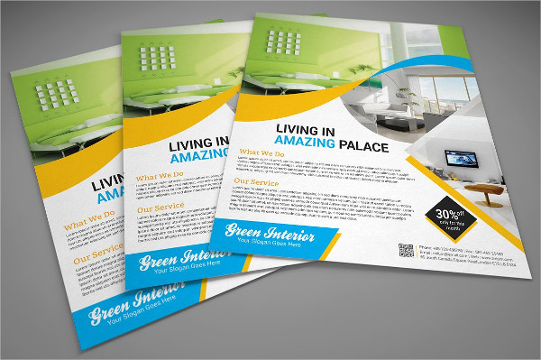 Corporate Interior Design Flyer