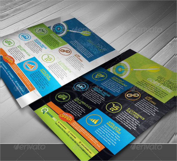 Corporate Brand SEO Business Flyer
