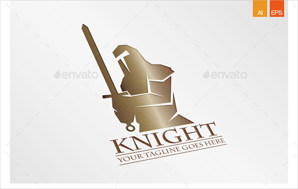 Creative Knight Logo Template