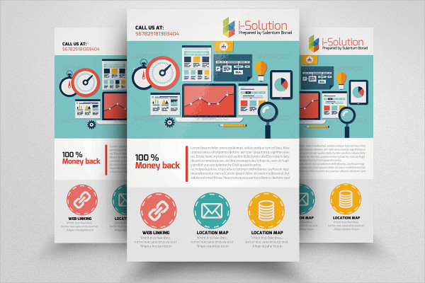 Stylish SEO Business Flyer Template