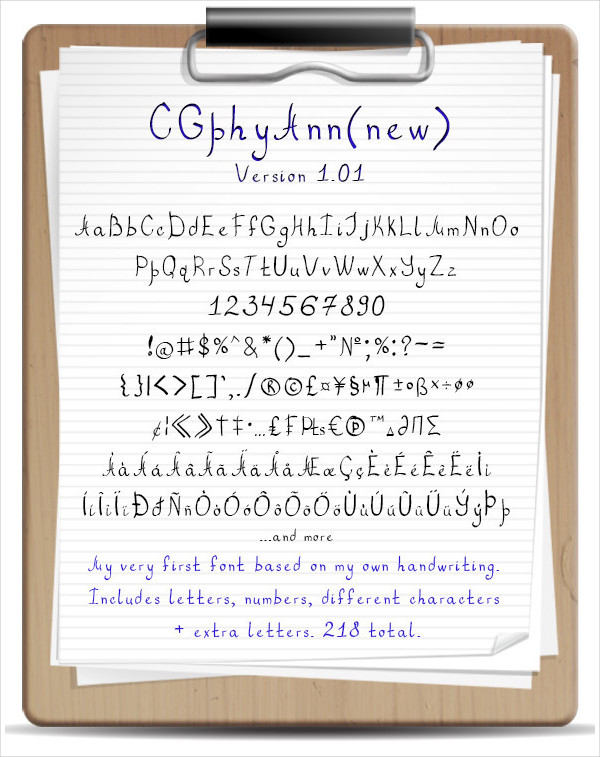 Curls Handwritten Fonts