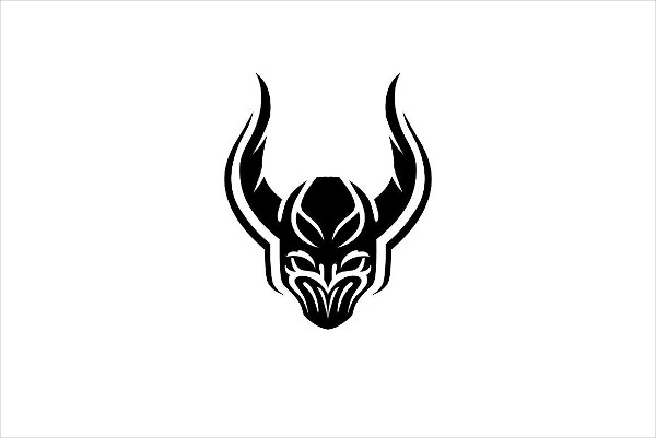 Dark Knight Team Logo Template