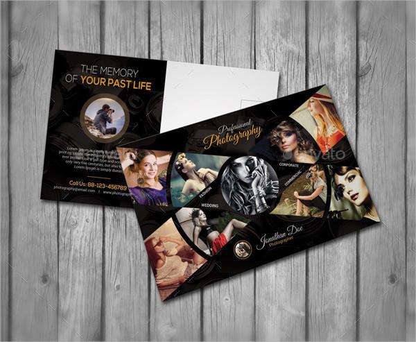 Fashion Photography Postcard Template
