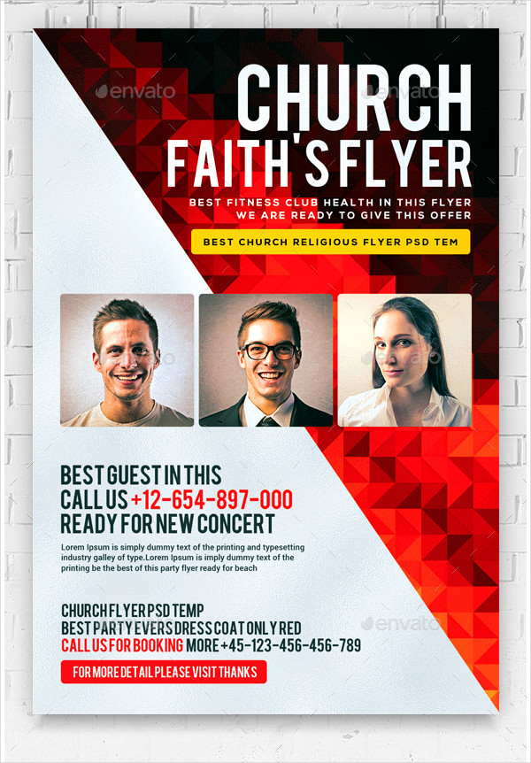 Faith Church Flyer Template
