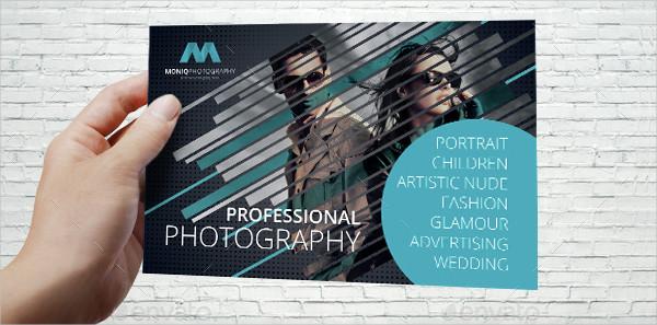 Professional Photographer Postcard Template