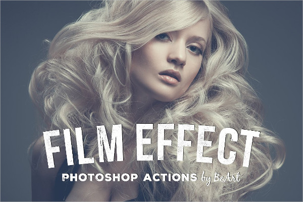 Professional Film Effect Photoshop Actions