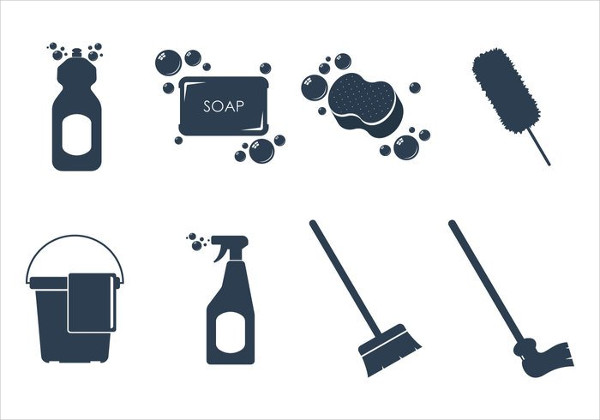 Cleaning Icon Vectors Free Download