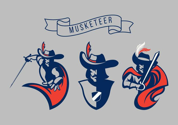 Free Musketeer Vector Logo Pack