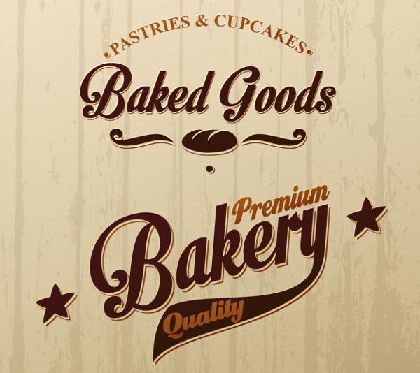Free Vector Bakery Shop Logo