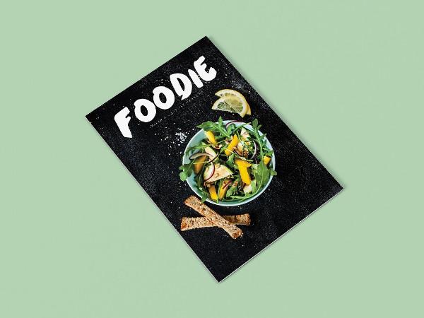 Fresh Foodie InDesign Magazine Templates