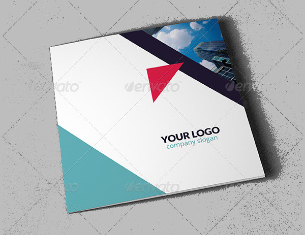 Square Industry Brochure Template
