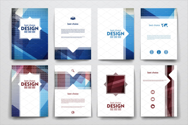 Beautiful Geometric Brochures