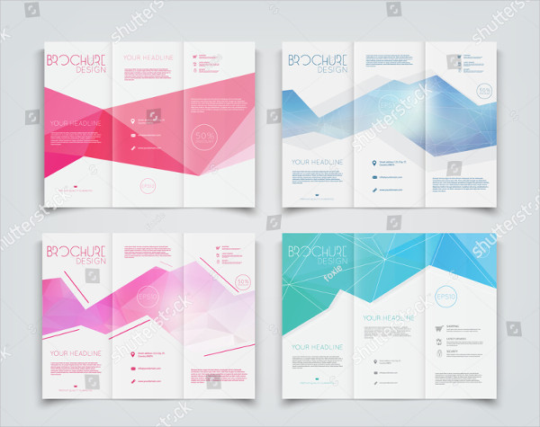 Collection of Geometric Brochure Templates